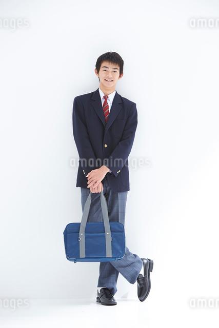 男子高校生の写真素材 [FYI01533548]
