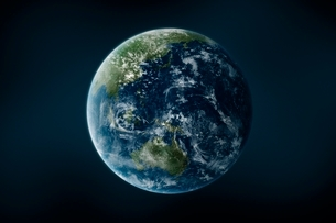 地球の写真素材 [FYI01538226]