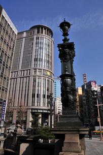 日本橋三越本店付近の写真素材 [FYI01539408]