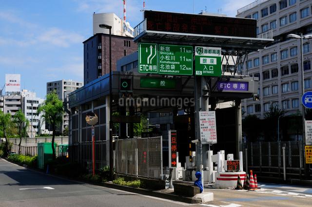 首都高銀座入口の写真素材 [FYI01540561]