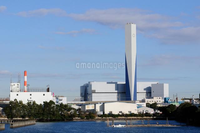 新江東清掃工場の写真素材 [FYI01541536]