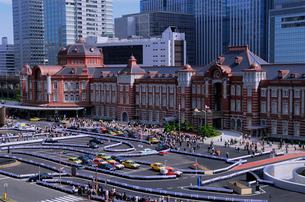 東京駅の写真素材 [FYI01541580]