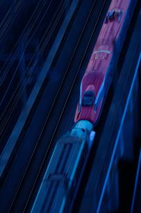 東北新幹線,スーパーこまちとつばさの写真素材 [FYI01541804]