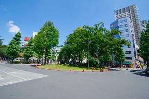 三鷹駅北口ロータリーの写真素材 [FYI01542103]