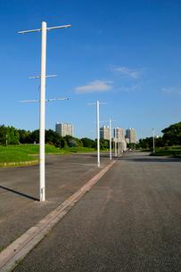 幕張海浜公園と幕張ベイタウンの写真素材 [FYI01542128]