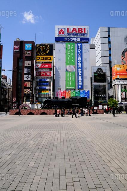 新橋SL広場の写真素材 [FYI01543279]