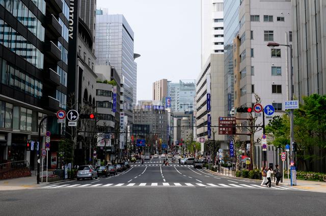 大阪街並みの写真素材 [FYI01544083]