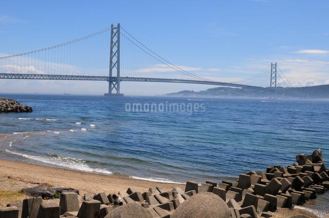明石大蔵海岸の風景の写真素材 [FYI01544336]