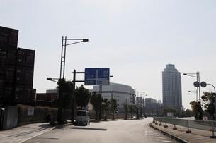 コスモフエリ-乗り場付近の風景の写真素材 [FYI01544392]