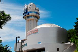明石天文科学館の風景の写真素材 [FYI01544597]