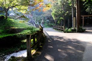 水の森瓜割の風景の写真素材 [FYI01544639]