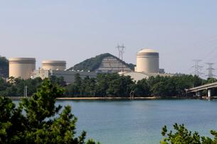 美浜原子力発電所の風景の写真素材 [FYI01544777]