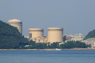 美浜原子力発電所の風景の写真素材 [FYI01544934]