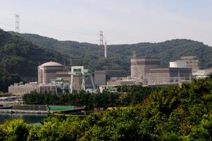 日本原子力敦賀発電所の風景の写真素材 [FYI01545228]