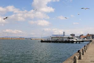 大津港の風景の写真素材 [FYI01545389]