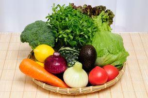 食材・野菜集合の写真素材 [FYI01546039]