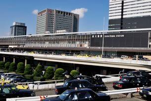 JR新大阪駅前の写真素材 [FYI01546164]