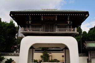 弁財天智禅寺の山門の写真素材 [FYI01546299]