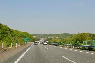 高速道路 山陽自動車道の風景の写真素材 [FYI01546407]