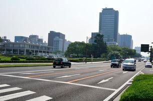 広島平和大通りの写真素材 [FYI01546666]
