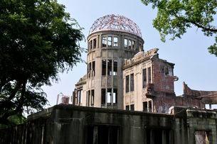 広島原爆ドームの写真素材 [FYI01546667]