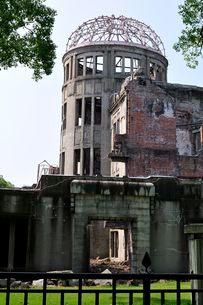広島原爆ドームの写真素材 [FYI01546827]