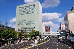 神戸 三宮の街並みの写真素材 [FYI01546909]