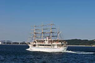 鳴門海峡日本丸でうずしお観光の写真素材 [FYI01547241]