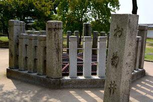 姫路城お菊井戸の写真素材 [FYI01547431]