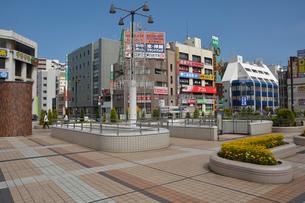 松戸駅西口界隈の写真素材 [FYI01547441]