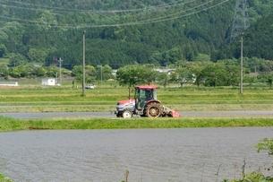 丹波の田園風景の写真素材 [FYI01547499]