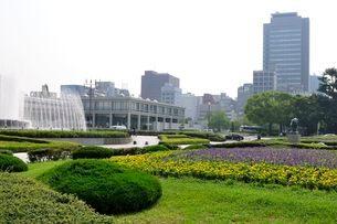 広島平和公園の写真素材 [FYI01547641]
