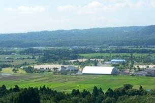 びわこ箱館山ゆり園,ロープウエイーからの風景の写真素材 [FYI01547733]