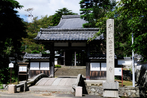 青井山安国高成禅寺の風景の写真素材 [FYI01547857]
