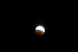 皆既月食の写真素材 [FYI01547876]
