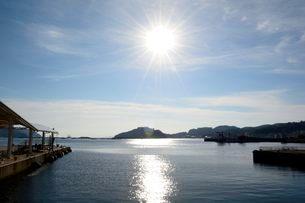 淡路 福良港観光船のりばの写真素材 [FYI01547933]