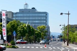 松江城付近からの街並みの写真素材 [FYI01547949]