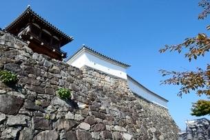 福知山城石垣の写真素材 [FYI01548421]
