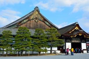 京都 二条城二の丸御殿の写真素材 [FYI01548513]