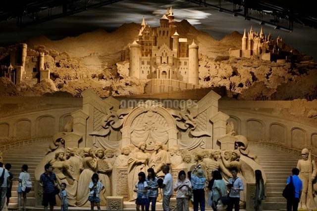 鳥取砂丘,砂の美術館,ドイツ編の写真素材 [FYI01548886]