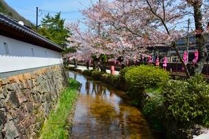 竹田城 寺町通りの写真素材 [FYI01549037]