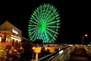 りんくうタウン観覧車の夜景の写真素材 [FYI01549077]
