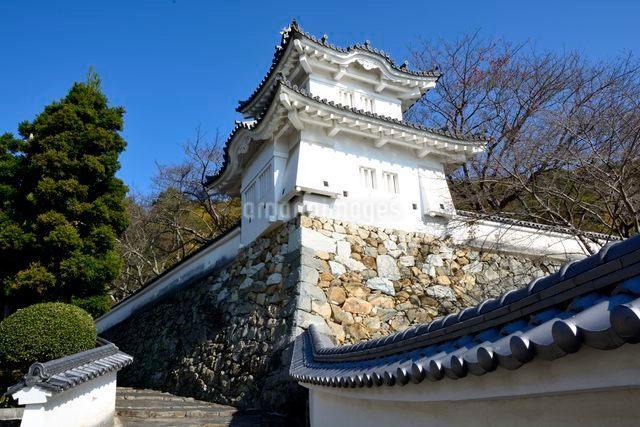 龍野城 霞城・櫓の写真素材 [FYI01549115]