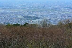 池田,日の丸展望台からの街並みの写真素材 [FYI01549276]