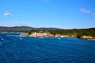 賢島エスパ-ニャクル-ズ船で英虞湾を遊覧の写真素材 [FYI01549733]
