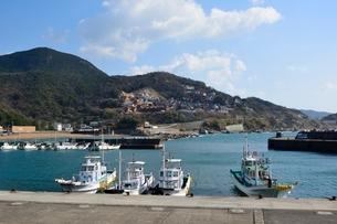 和歌山,由良漁港の写真素材 [FYI01549831]
