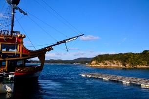賢島エスパ-ニャクル-ズ船で英虞湾を遊覧の写真素材 [FYI01550119]