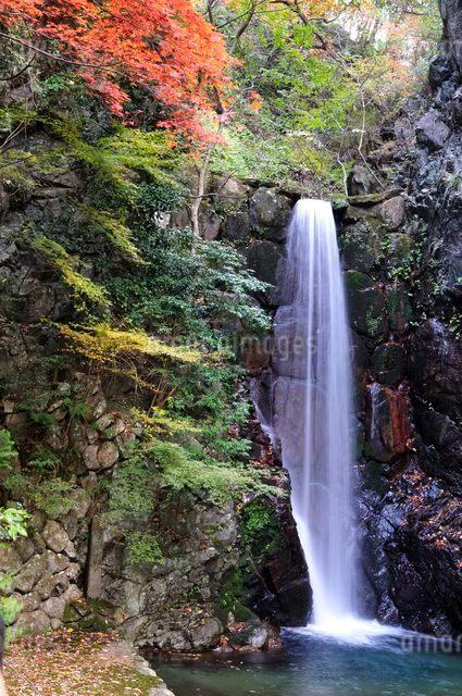 有馬温泉鼓ヶ滝の写真素材 [FYI01550773]