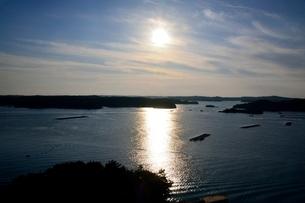賢島から見たあご湾の風景の写真素材 [FYI01550793]