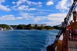賢島エスパ-ニャクル-ズ船で英虞湾を遊覧の写真素材 [FYI01550816]